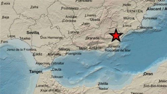 La localidad almeriense de Zurgena registra un terremoto de magnitud 3,4 sin causar daños