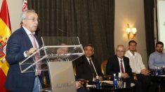 Alejandro Blanco, en la presentación de los Juegos Europeos de Minsk. (COE)