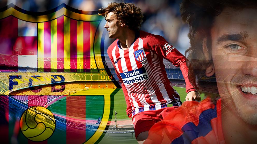 Antoine Griezmann es nuevo jugador del Barcelona.