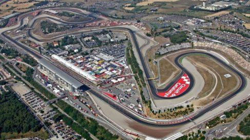 Así es el circuito de Montmeló. (MotoGP)
