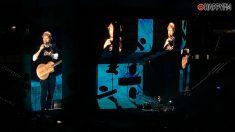 Ed Sheeran emocionó como nunca al público de Madrid