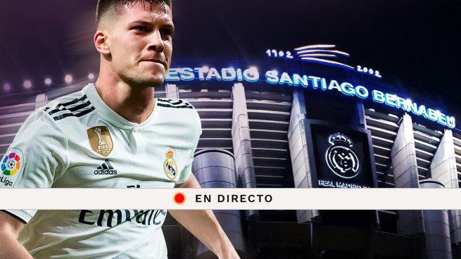 Luka Jovic: Rueda de prensa tras su presentación en el Real Madrid, en directo