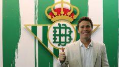 Francesc Rubi en su presentación como nuevo entrenador del Betis (@RealBetis)