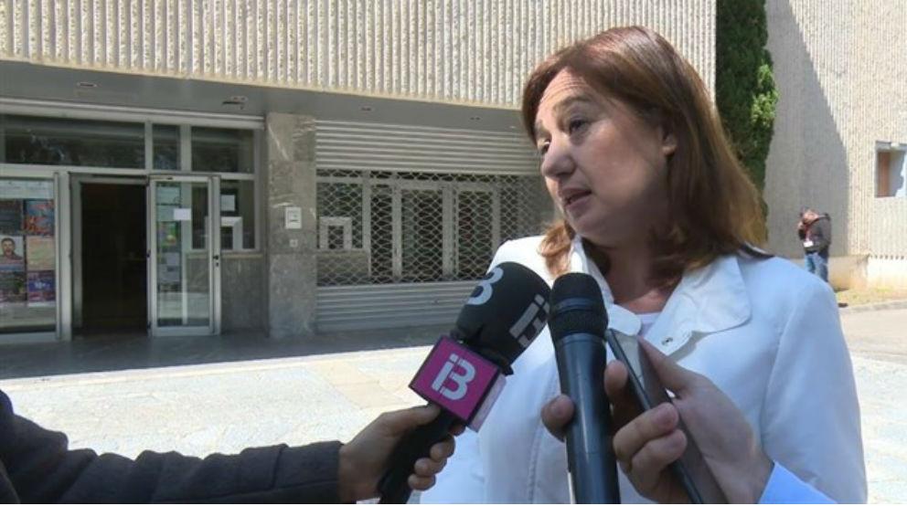 La presidenta de Balares, Francina Armengol.