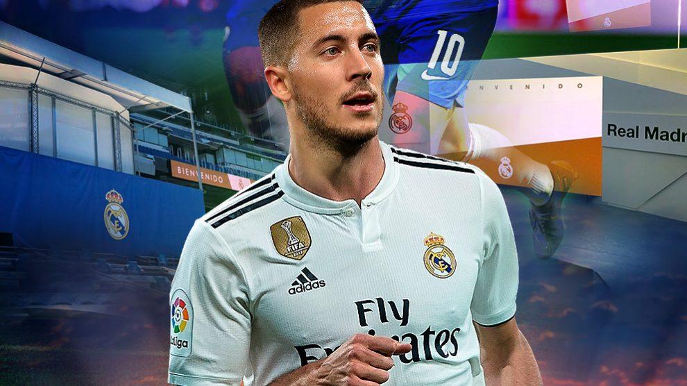 El Real Madrid prepara la presentación galáctica de Hazard.