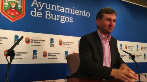 Javier Lacalle, alcalde de Burgos. (Foto. Europa Press)