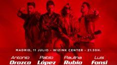 El concierto de 'La Voz' será en Madrid el 11 de julio