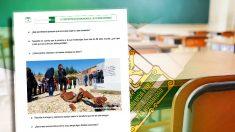 Una de las fichas de la Junta de Andalucía para celebrar en los colegios por segunda vez el Día de la Memoria Histórica.