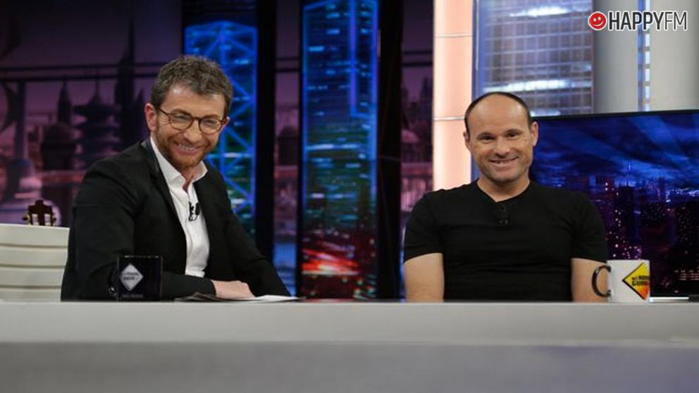 Pablo Motos y Mateu Lahoz, en 'El Hormiguero'
