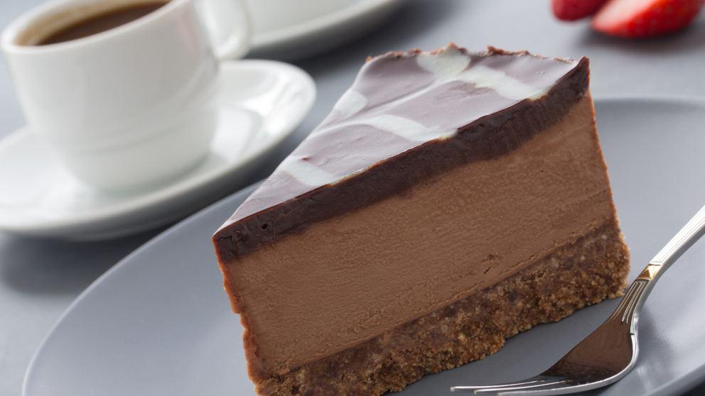 Receta de Tarta helada de café