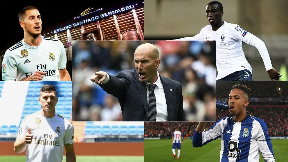 Hazard, Mendy, Jovic y Militao, los primeros fichajes del Real Madrid de Zidane.
