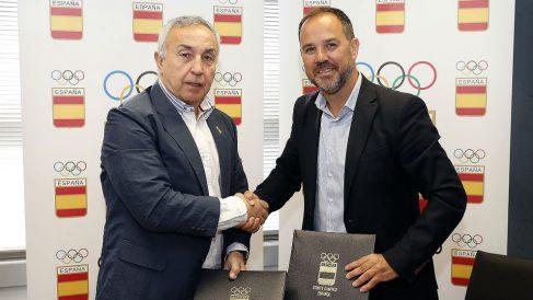 Alejandro Blanco renovó su cooperación con la Comunidad de Madrid.