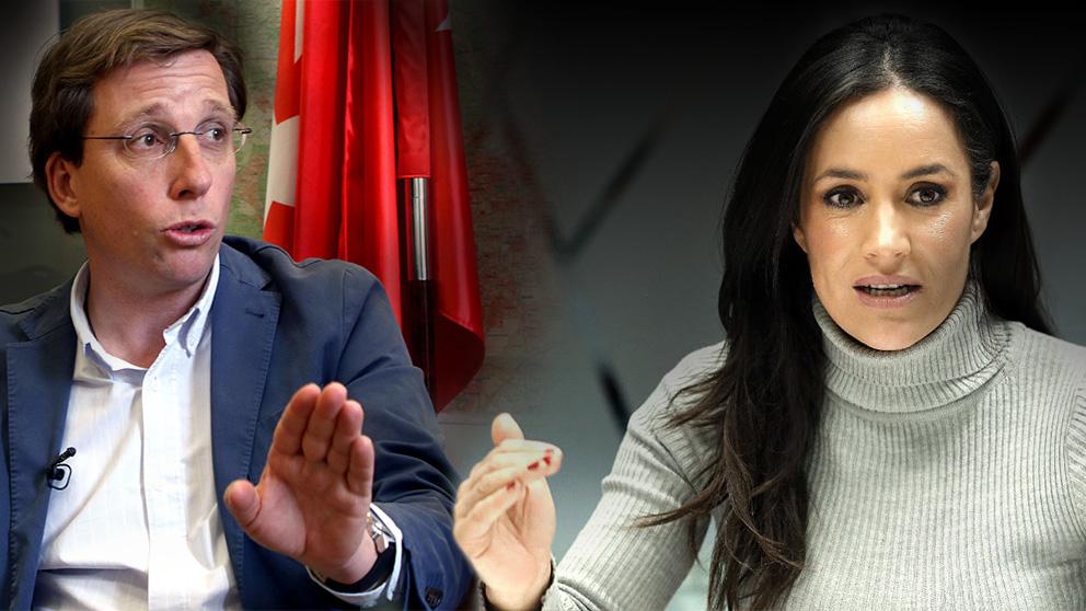 José Luis Martínez-Almeida (PP) y Begoña Villacís (C's)