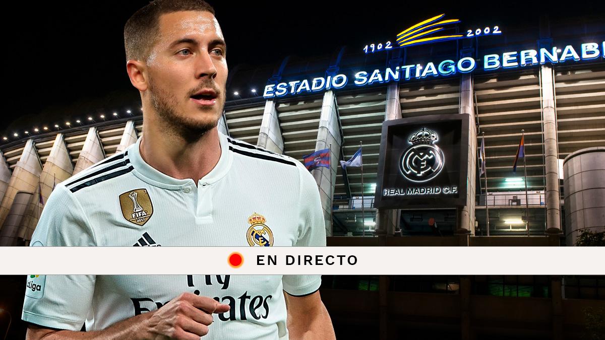 Eden Hazard: Sigue en directo la presentación del nuevo fichaje del Real Madrid