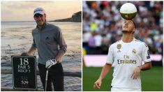 Gareth Bale y Eden Hazard.