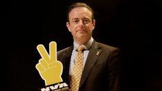 Bart De Wever, lider de NVA, nacionalistas de Flandes. @Getty