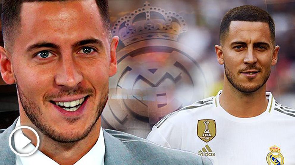Eden Hazard cumplió su sueño de firmar por el Real Madrid.