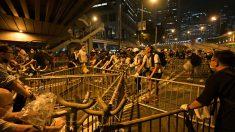 Disturbios en Hong Kong (Foto: AFP)