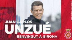 Juan Carlos Unzué (Girona Fútbol Club)