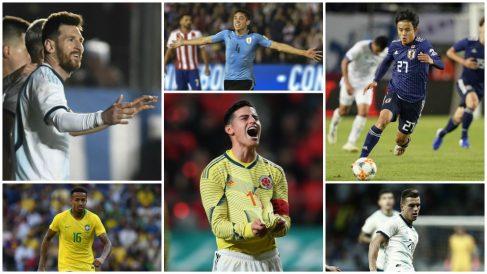 Los jugadores a seguir en la Copa América.