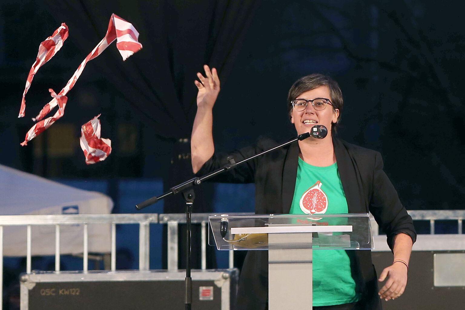 Mireia Boya, ex dirigente de la CUP @EFE