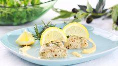 Receta de Merluza al limón