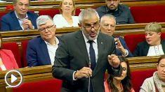 Carlos Carrizosa, portavoz de Ciudadanos en el Parlamento catalán. @Twitter