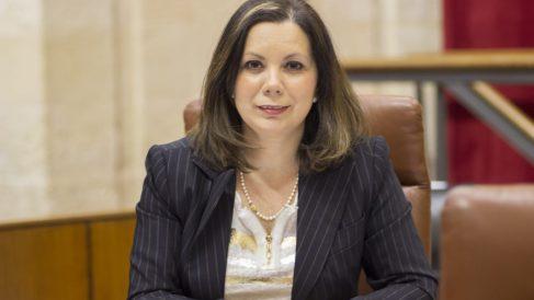 Ángela Mulas, Diputada de VOX por la provincia de Cádiz y Portavoz Adjunta del Grupo Parlamentario VOX en Andalucía