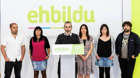 El coordinador de EH Bildu en Álava Ibon San Saturnino. (EFE)