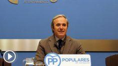El portavoz del PP en el Ayuntamiento de Zaragoza, Jorge Azcón.