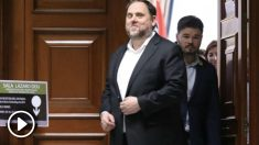Oriol Junqueras entrando al Congreso. Foto: Europa Press