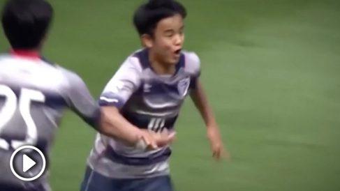 Kubo, la perla japonesa que ha fichado el Real Madrid.