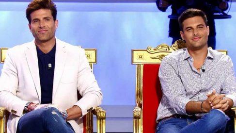 Miguel y Efrén en el trono de 'MYHYV'
