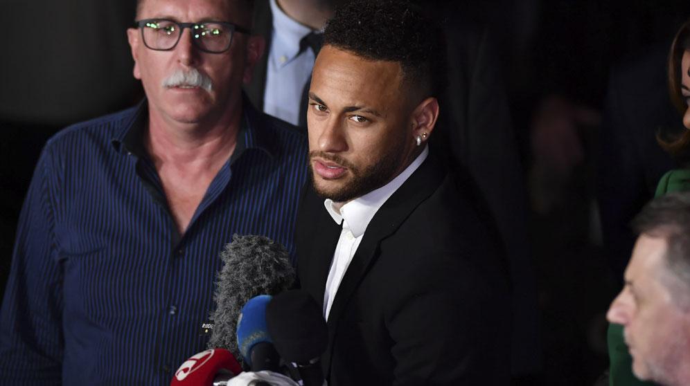 Neymar, en una imagen de archivo. (AFP)