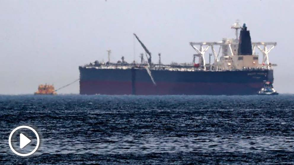 Petrolero emiratí (Foto: AFP)