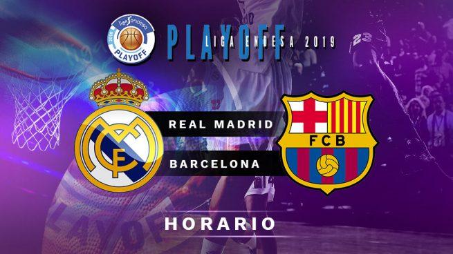 Real Madrid – Barcelona: horario y dónde ver el segundo partido de hoy de la final de la Liga Endesa