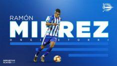 Ramón Miérez, nuevo fichaje del Alavés (Deportivo Alavés)