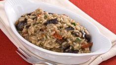 Receta de arroz con tomates secos y setas
