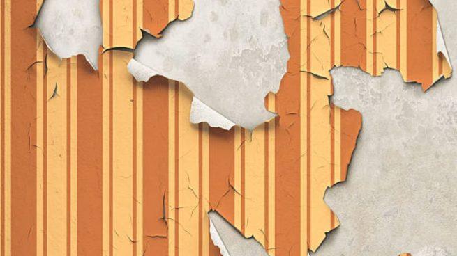 tapar agujeros papel pintado de la pared