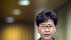 Carrie Lam, jefa de Gobierno de Hong Kong. @Getty