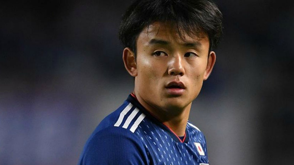 Kubo, con la selección japonesa.