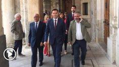 El socialista Daniel de la Rosa, alcalde de Burgos. Foto: Europa Press.