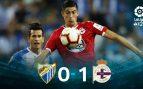 El Deportivo elimina al Málaga y pasa a la final del playoff de ascenso