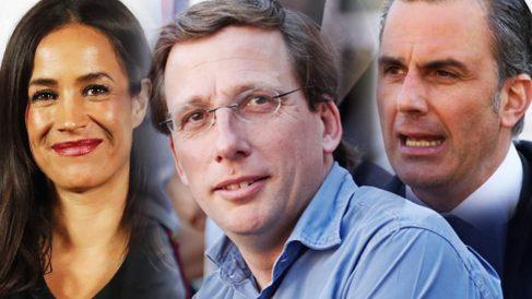 Begoña Villacís, José Luis Martínez-Almeida y Javier Ortega Smith