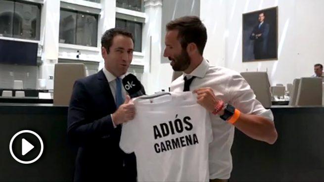 García Egea sobre Almeida: «Me alegro por él y por los madrileños porque es un tío excepcional»