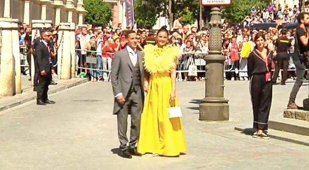 Boda de Sergio Ramos y Pilar Rubio, en directo