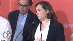 Ada Colau, reelegida alcaldesa de Barcelona.