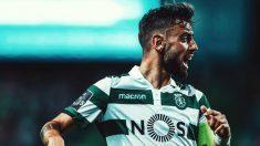 Bruno Fernandes con el Sporting de Portugal (@B_Fernandes8)
