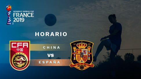 Copa Mundial Femenina 2019: China – España | Horario del partido de la Copa Mundial Femenina 2019.