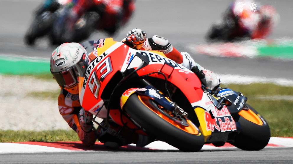 Márquez se impuso en el MotoGP Gran Premio de Cataluña 2019.